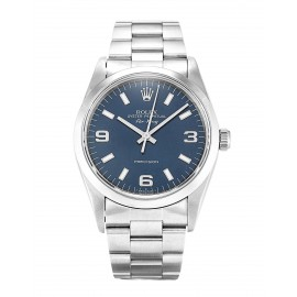 Copie Rolex Air-King Bleu Trimestre Arabe Unisexe 14000
