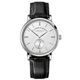 Copie A.Lange & Sohne Saxonia Manuel Enroulement 35mm Or Blanc 219.026
