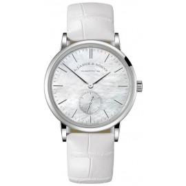 Replique Montre A. Lange & Sohne Saxonia 35 Or blanc 219.047