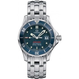 Replique Montre Omega Seamaster Diver 300 M James Bond Bleu Dames 2224.80.00