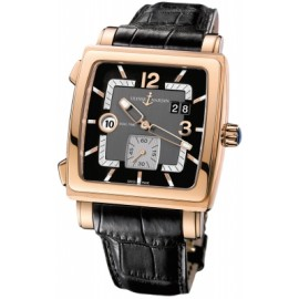 Replique Ulysse Nardin Quadrato Dual Time 246-92/692