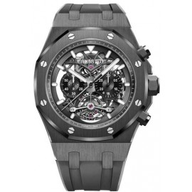 Copie Audemars Piguet Royal Oak Tourbillon Chronographe Openworked 26343CE.OO.D002CA.01