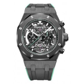 Copie Audemars Piguet Royal Oak Tourbillon Chronographe Openworked 26343CE.OO.D002CA.03
