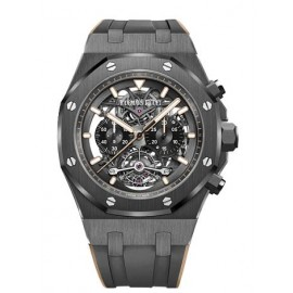 Copie Audemars Piguet Royal Oak Tourbillon Chronographe Skeleton 26343CE.OO.D002CA.04