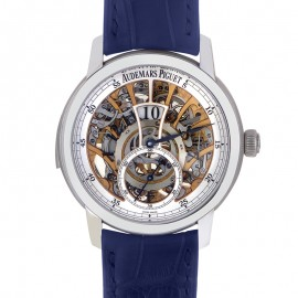 Replique Montre Audemars Piguet Jules Audemars Minute Repeater Regulator 26356PT.OO.D028CR.01
