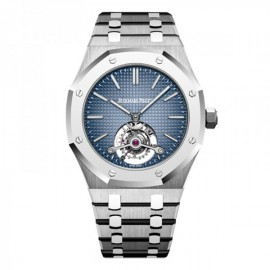 Replique Montre Audemars Piguet Royal Oak Tourbillon Extra-Fin 41mm Titane 26510IP.OO.1220IP.01