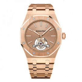 Replique Montre Audemars Piguet Royal Oak Tourbillon Extra-Fin 41mm Or 26515OR.OO.1220OR.01