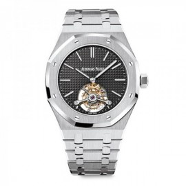 Replique Montre Audemars Piguet Royal Oak Tourbillon 41mm extra-fin 26512ST.OO.1220ST.01