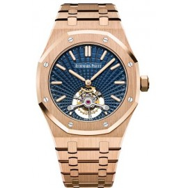 Copie Audemars Piguet Royal Oak Ultra Thin Tourbillon Or Rose 26522OR.OO.1220OR.01