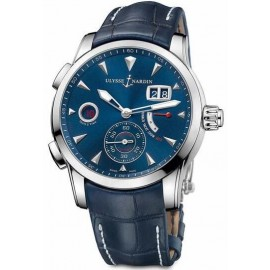 Replique Montre Ulysse Nardin Dual Time Manufacture 42 mm 3243-132LE/BQ