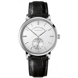 Copie A.Lange & Sohne Saxonia Automatique en Or Blanc 380.027