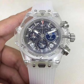 Hublot Big Bang Unico Perpetual Calendar Sapphire 45mm Replique 406.JX.0120.RT