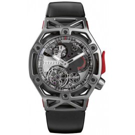 Copie Hublot Techframe Ferrari Tourbillon Chronographe Titane 45mm