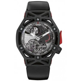 Copie Hublot Techframe Ferrari Tourbillon Chronographe Carbon 45mm 408.QU.0123.RX