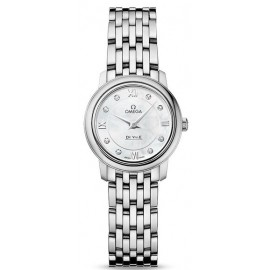 Replique Montre Omega De Ville Prestige Quartz 24.4mm Dames 424.10.24.60.55.001
