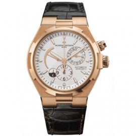 Copie Vacheron Constantin Overseas Dual Time Rose Or 47450/000R-9404