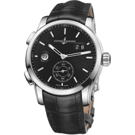 Ulysse Nardin Dual Time Manufacture 42 mm 3343-126/92 Montre Replique