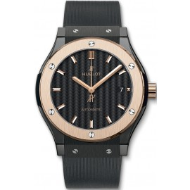 Replique Montre Hublot Classic Fusion Ceramique King Gold Montre Homme 42mm 511.CO.1781.RX