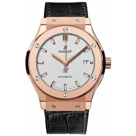 Replique Montre Hublot Classic Fusion King Gold Opalin 45mm 511.OX.2611.LR