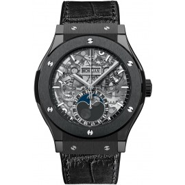 Replique Montre Hublot Classic Fusion Aerofusion Moonphase Black Magic 517.CX.0170.LR