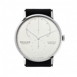 Copie Nomos Lambda 42 mm Or blanc Hommes 931