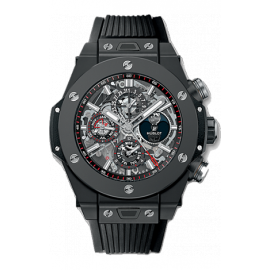 Faux Hublot King Power Unico Perpetual Calendar Black Magic 45mm 406.CI.0170.RX