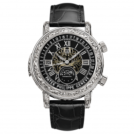 Patek Philippe Grand Complications Sky Moon Tourbillon 6002G-010 Montre Replique