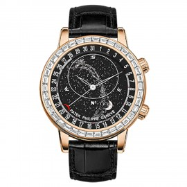 Patek Philippe Grand Complications Celestial Or rose/Noir 6104R-001 Montre Replique