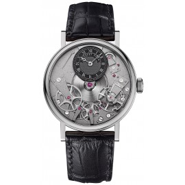 Breguet Tradition Hand Wound 37mmOr blanc 7027BB/G9/9V6 Replique