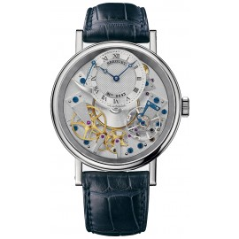 Breguet Tradition Hand Wound 40mm Or blanc 7057BB/11/9W6 Replique