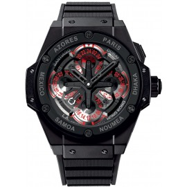 Replique Montre Hublot King Power Unico GMT Ceramique 771.CI.1170.RX