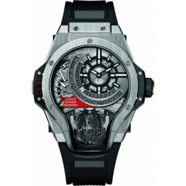 Replique Montre Hublot MP-09 Tourbillon Bi-Axis Titane 909.NX.1120.RX