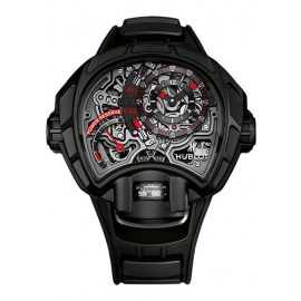 Replique Montre Hublot MP-12 Key Of Time Tout Noir 912.ND.0123.RX