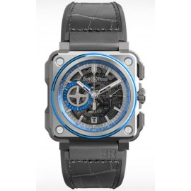 Replique Bell & Ross BR-X1 Hyperstellar Skeleton Chronographe BR-X1 Hyperstellar