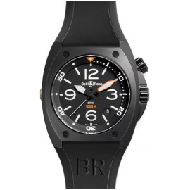 Copie Bell & Ross Marine automatique Homme BR 02-92 Carbon