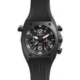 Copie Bell & Ross Marine Chrono Homme automatique BR 02-94 Carbon