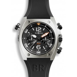 Copie Bell & Ross Marine Chronographe Homme BR 02-94 Steel