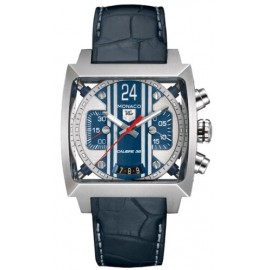 Replique TAG Heuer Monaco 24 Calibre 36 Automatique Chronographe 40.5 mm CAL5111.FC6299
