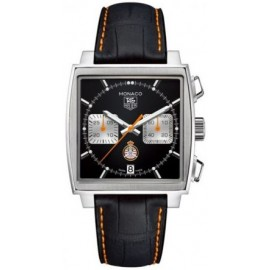 Replique TAG Heuer Monaco Calibre 12 Automatique Chronographe 39mm CAW211K.FC6311