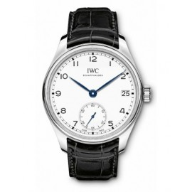 Copie IWC Portugieser Hand-Wound Huit Jours Edition 150 Ans IW510212