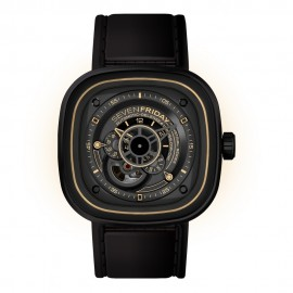 Replique Montre SevenFriday P2-2 en acier inoxydable/PVD