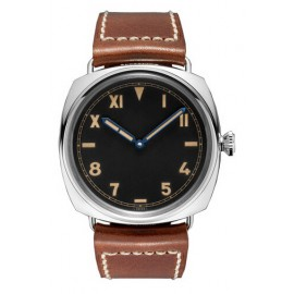 Copie Panerai Radiomir Californie 3 Days Black Dial Brown Leather Hommes PAM00448
