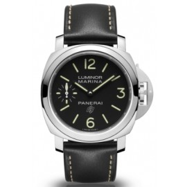 Copie Panerai Luminor Logo Marina 3 Days Acciaio 44mm PAM00776