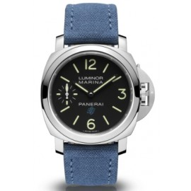 Copie Panerai Luminor Logo Marina 3 Days Acciaio 44mm PAM00777