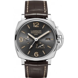 Copie Panerai Luminor Due 3 Jours GMT Power Reserve Automatique Acciaio 45mm PAM00944