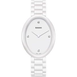 Replique Rado Esenza Blanc Cadran High-tech Blanc Ceramique Dames R53092712