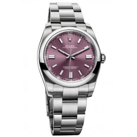 Replique Rolex Oyster Perpetual 36mm Raisin Cadran 116000-70200