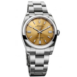 Replique Rolex Oyster Perpetual 36mm Raisin blanc Cadran 116-000- 70200
