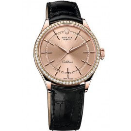 Copie Rolex Cellini Time Everose Or 50705RBR