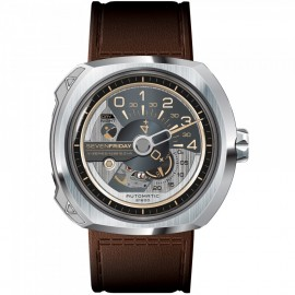 Replique Montre SevenFriday V2-01 en acier inoxydable
